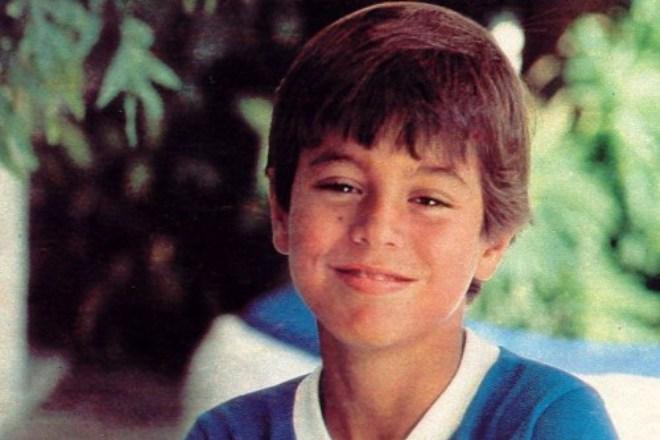 Энрике Иглесиас в детстве