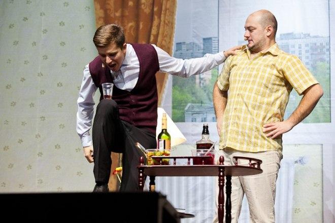 """Денис Косяков в спектакле """"Подыскиваю жену. Недорого!"""""""
