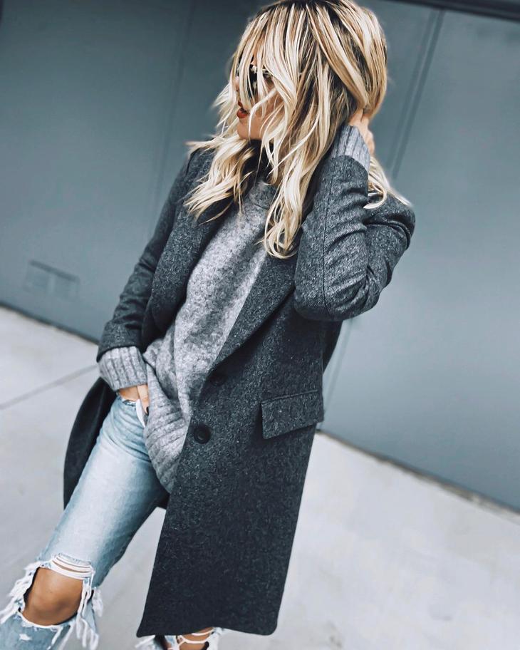 модные луки зима 2020 фото 2
