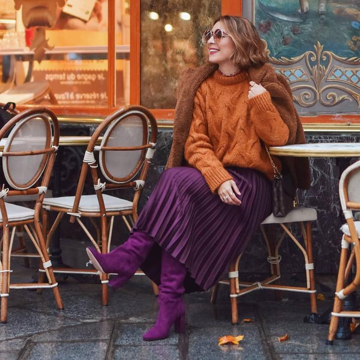 с чем носить свитер женщинам после 40-50 лет фото 6