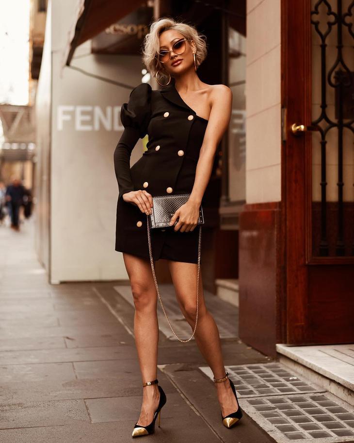 черное платье фото 11