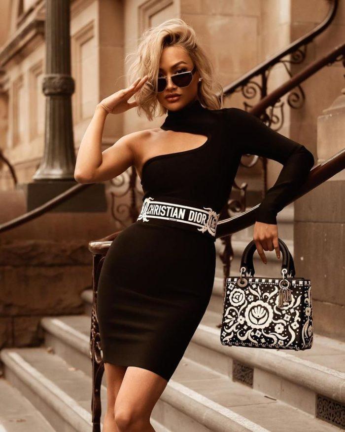 черное платье фото 10
