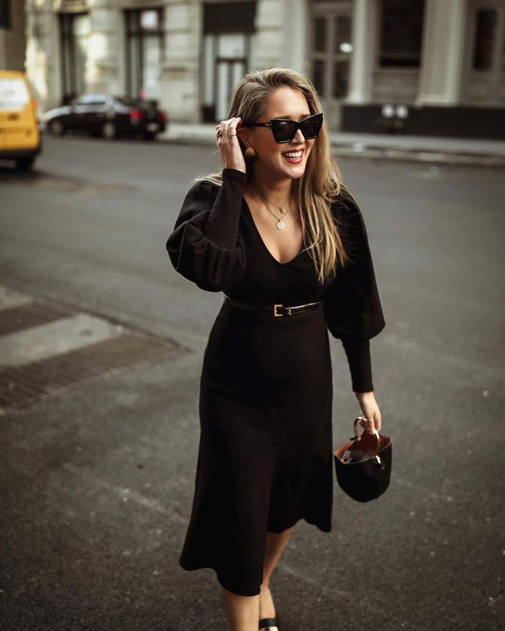 черное платье фото 16