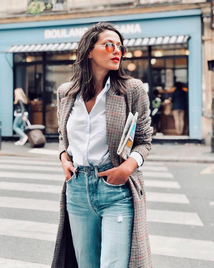 джинсы с белой рубашкой фото 2
