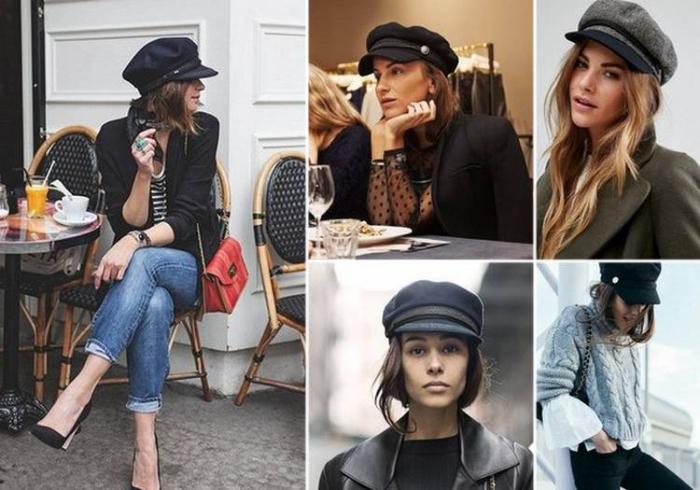 Женские кепки.