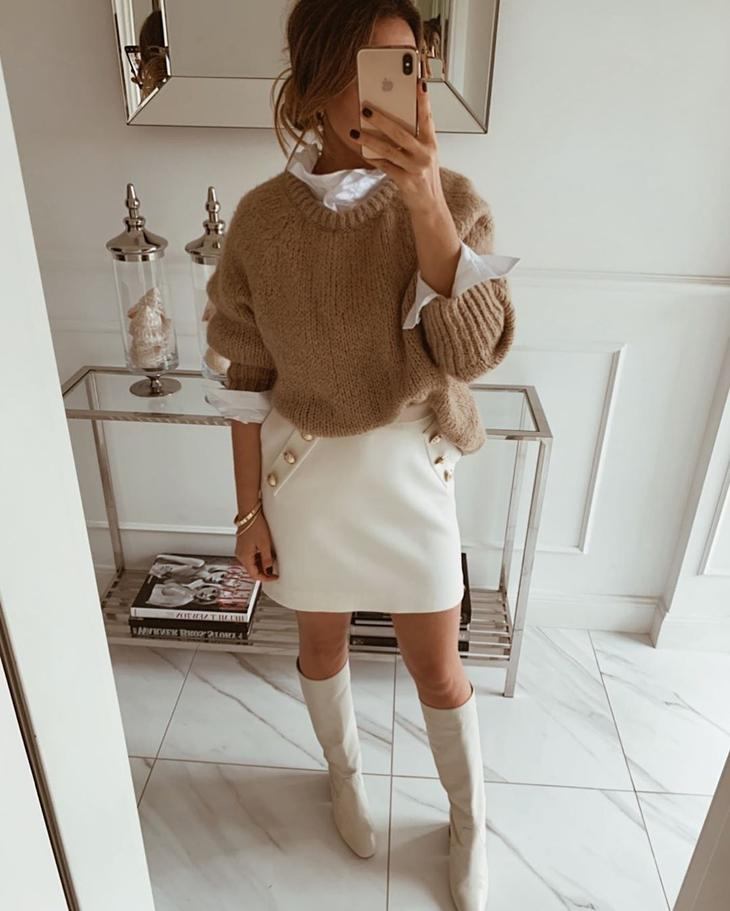 Зимние юбки 2020 фото 2