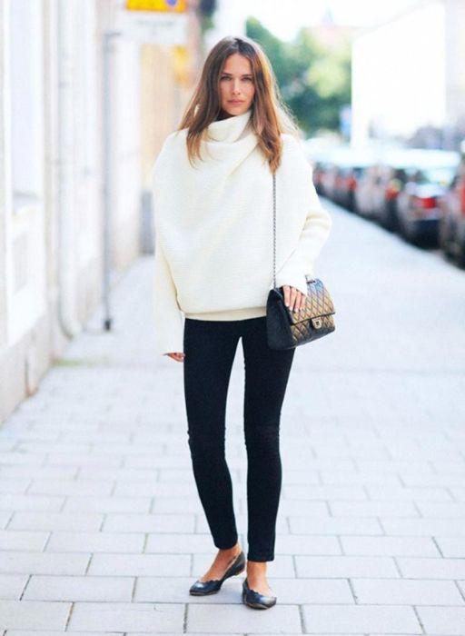 Балетки – незаменимая пара обуви в любом женском гардеробе. /Фото: fashiontrendwalk.com