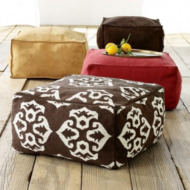Кресло-мешок своими руками квадратной формы