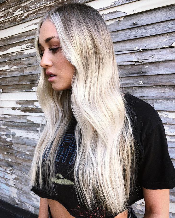 модный цвет волос 2020 фото 4