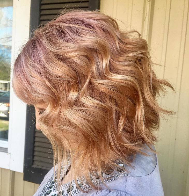 популярные цвета волос 2019 года фото 17