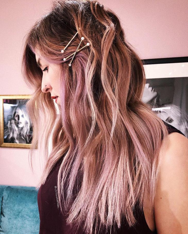 модный цвет волос 2020 фото 3