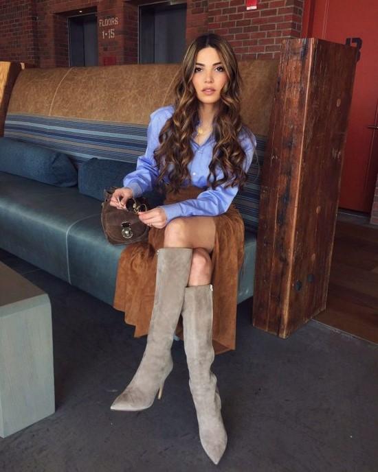 Модные луки осень-зима - красивые комплекты для холодных времен года