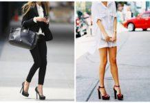 Высокие каблуки неудобные