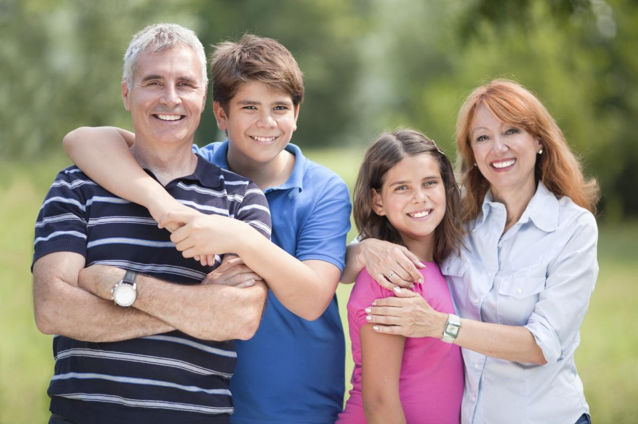 Картинка родители и подросток