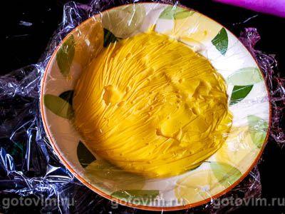 Миндальный торт с заварным кремом, Шаг 08