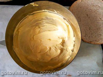 Миндальный торт с заварным кремом, Шаг 10