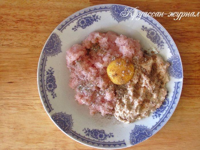 суп с куриными кнелями-приготовление