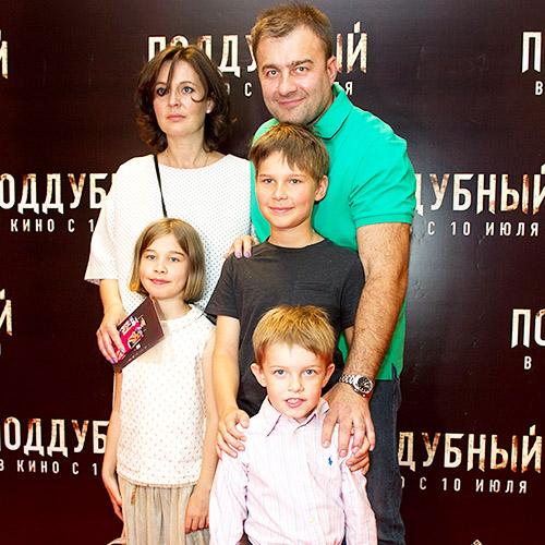 Фото семьи Михаила Пореченкова
