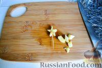 """Фото приготовления рецепта: Фруктовый салат """"Новогодняя ёлка"""" - шаг №10"""