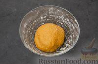 Фото приготовления рецепта: Карамельные пряники из заварного теста, с молочной глазурью - шаг №10
