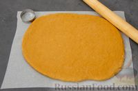 Фото приготовления рецепта: Карамельные пряники из заварного теста, с молочной глазурью - шаг №11