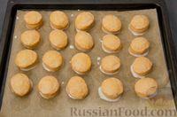 Фото приготовления рецепта: Карамельные пряники из заварного теста, с молочной глазурью - шаг №20