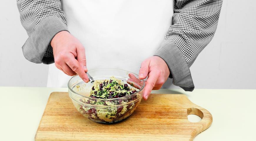 Фото приготовления рецепта: Лобио из красной фасоли, шаг №5