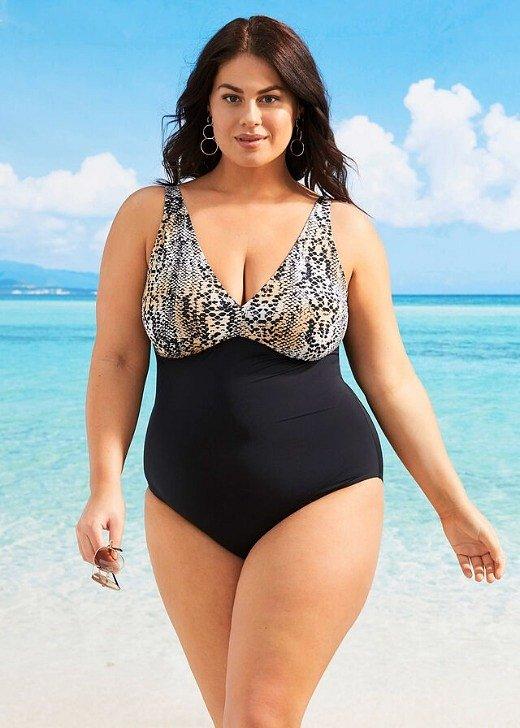 Модные купальники для полных женщин: как выбрать фото №3