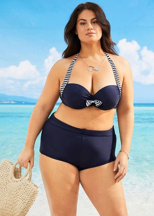 Модные купальники для полных женщин: как выбрать фото №5