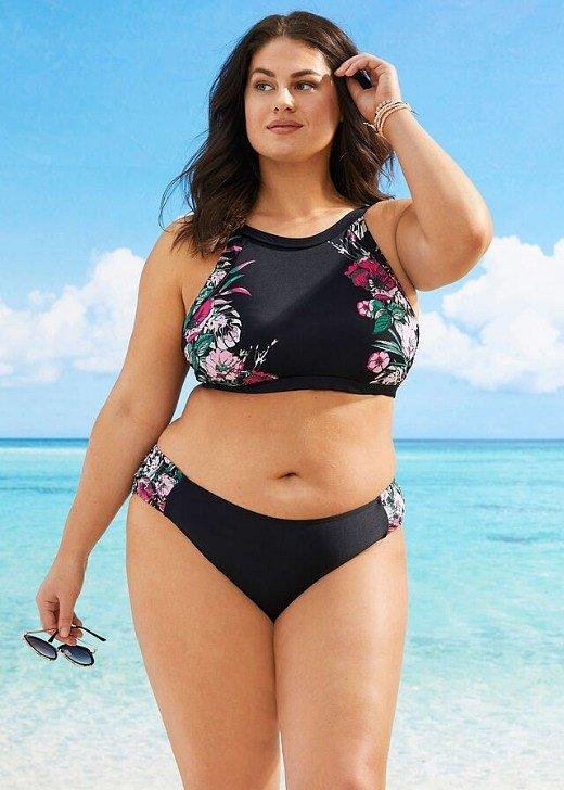 Модные купальники для полных женщин: как выбрать фото №12