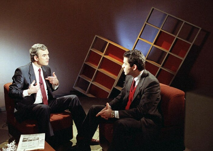 Владимир Молчанов и Гарри Каспаров. / Фото: www.livejournal.com