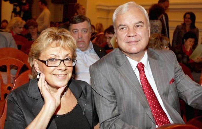 Владимир Молчанов с женой. / Фото: www.like-cool.ru